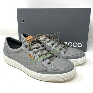 ECCO Wild Dove Pigeon Sauvage Men's Leather Grey
